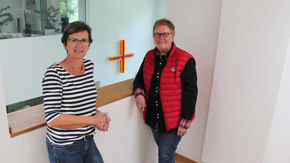 Birgit Rövekamp und Lena Dirksmeier