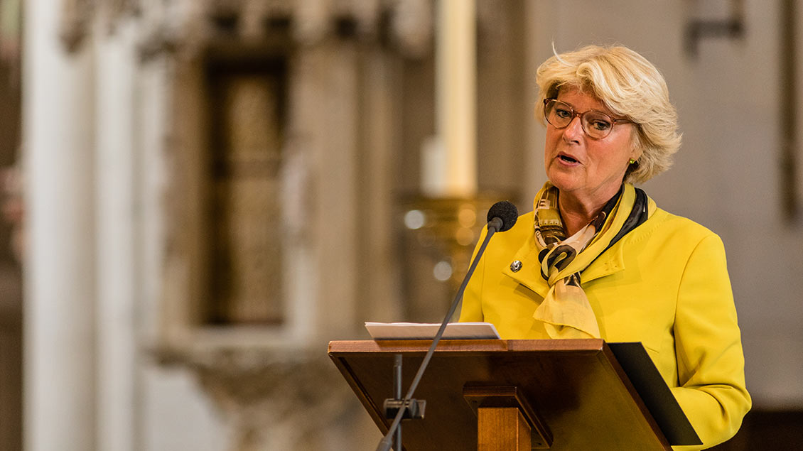 Kulturstaatsministerin Monika Grütters im Paulus-Dom Münster