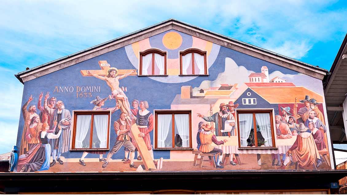 Ortsansicht von Oberammergau