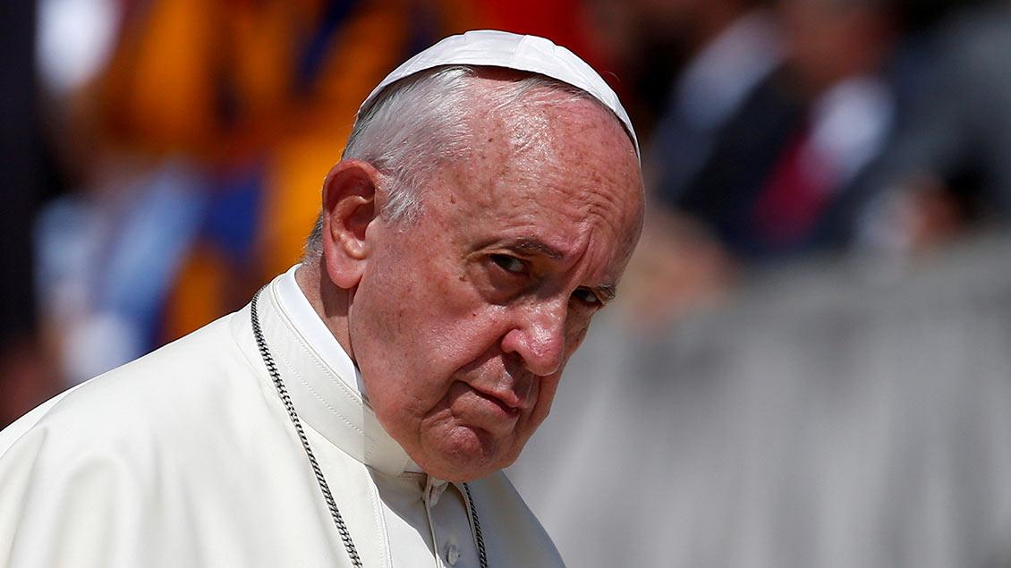 Papst Franziskus Foto: Yara Nardi (Reuters)