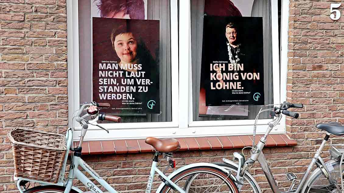 Plakate der Aktion