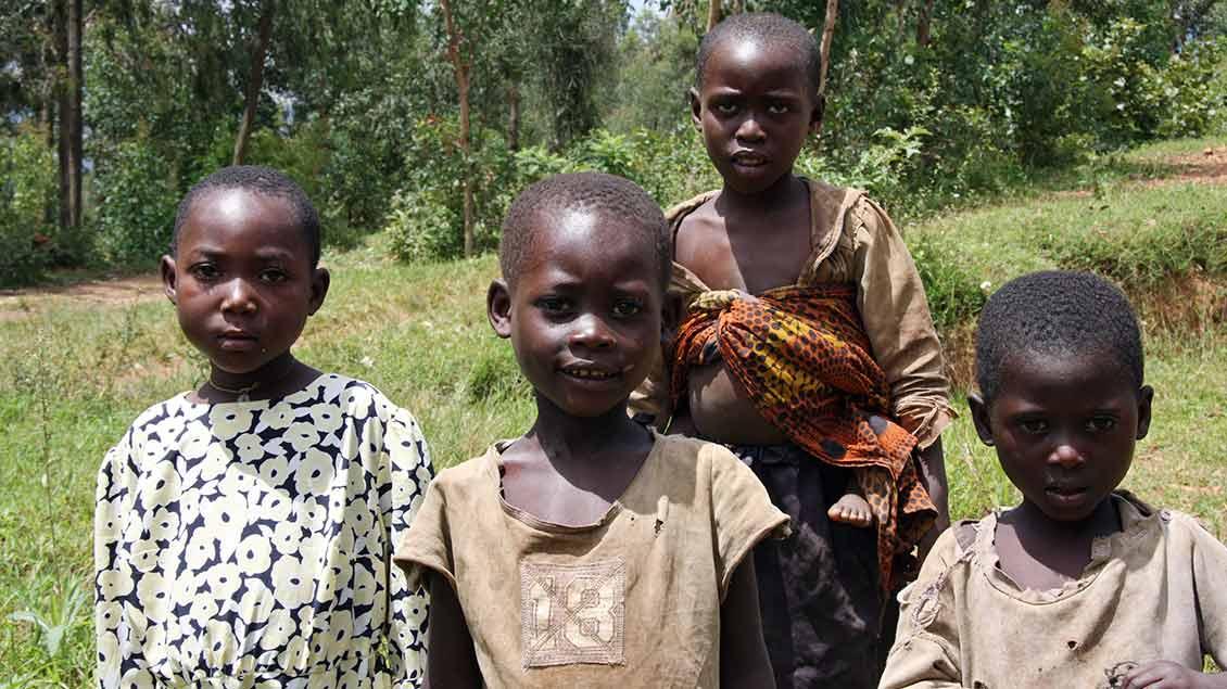 Kinder in Afrika Foto: Almud Schricke