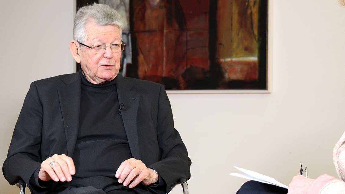 Bischof Erwin Kräutler Foto: Martin Schmitz