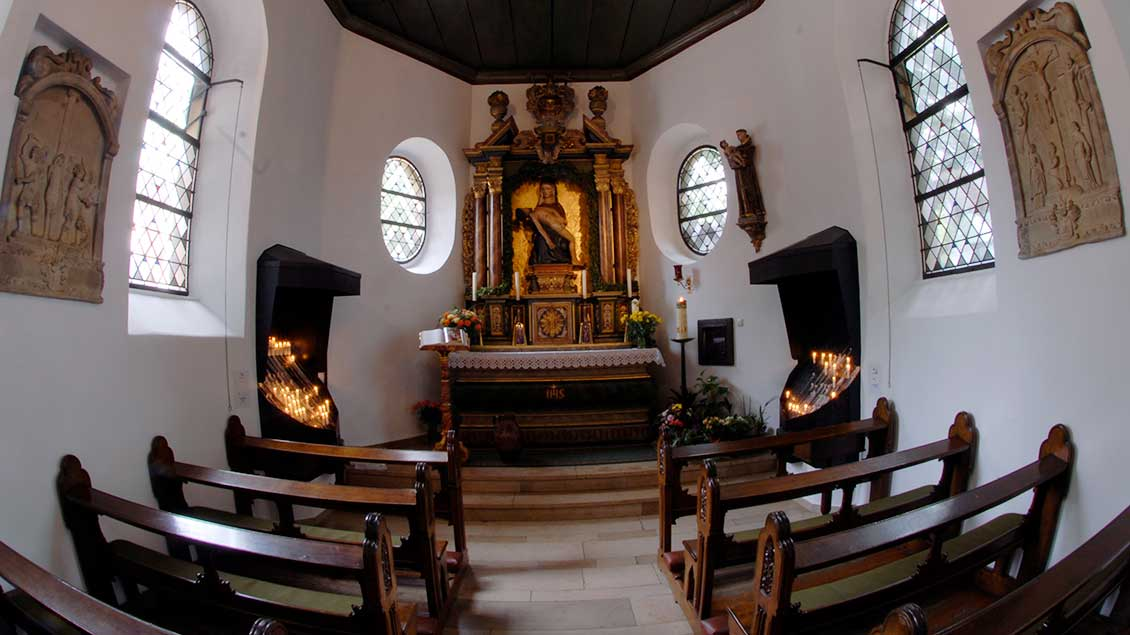 Blick in die Gnadenkapelle. | Foto: Michael Bönte