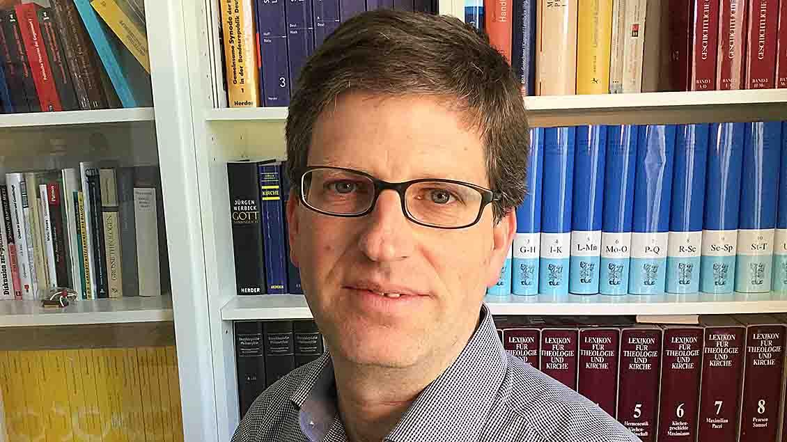 Moraltheologe Daniel Bogner aus Münster