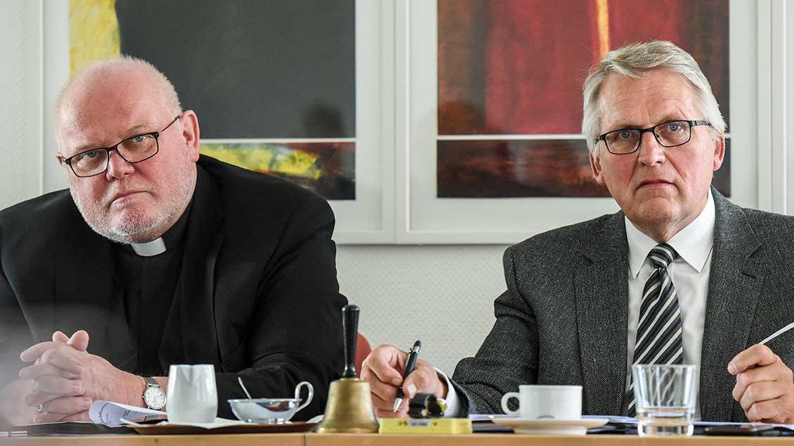 Kardinal Reinhard Marx und Thomas Sternberg