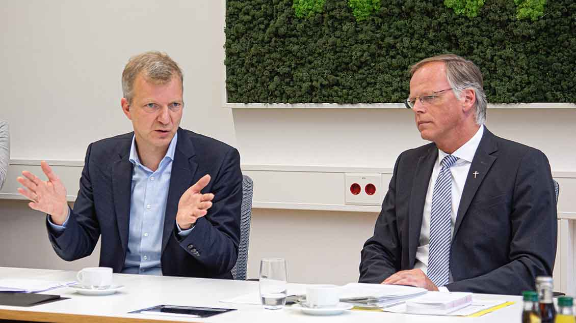 Thomas Großbölting und Klaus Winterkamp Foto: Christof Haverkamp
