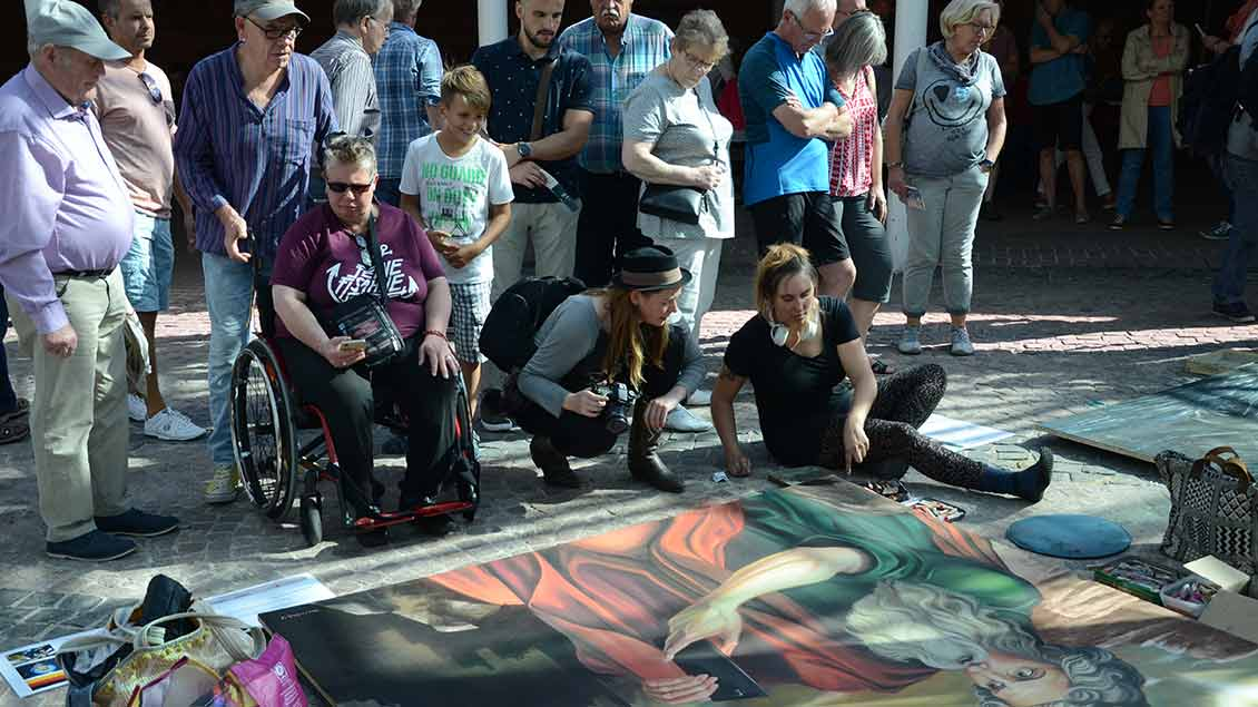 Tanya Telanova: Madonna mit Schleier. |  Foto: Jürgen Kappel