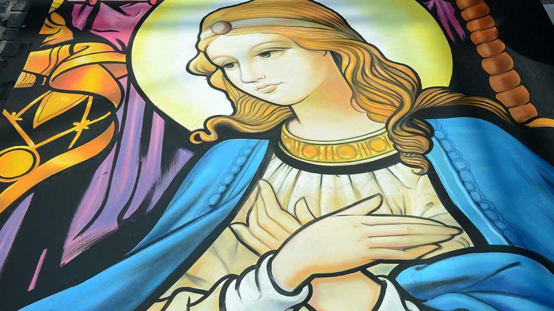 Klassische Madonna. Foto: Jürgen Kappel