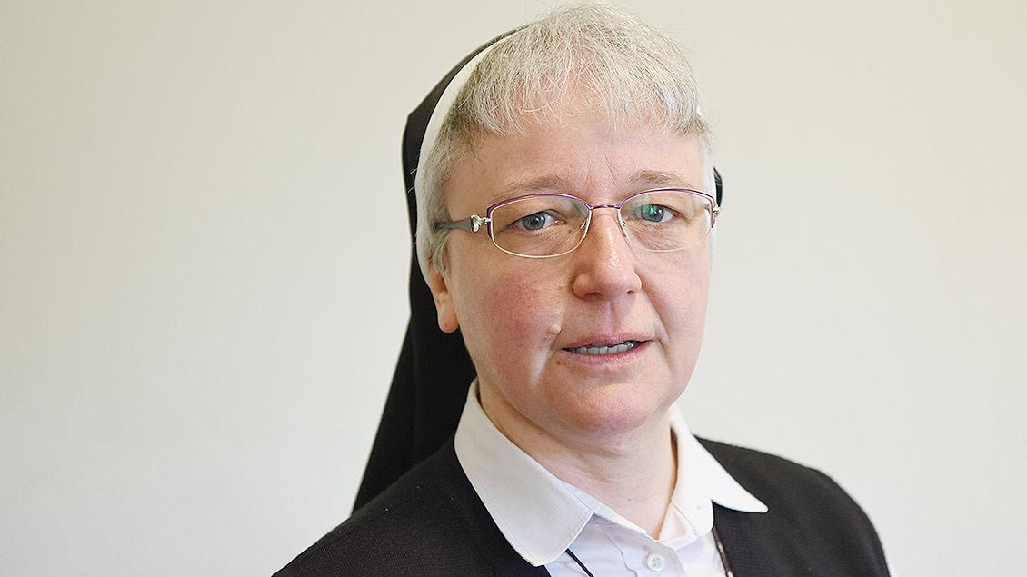 Schwester Katharina Kluitmann im Porträt