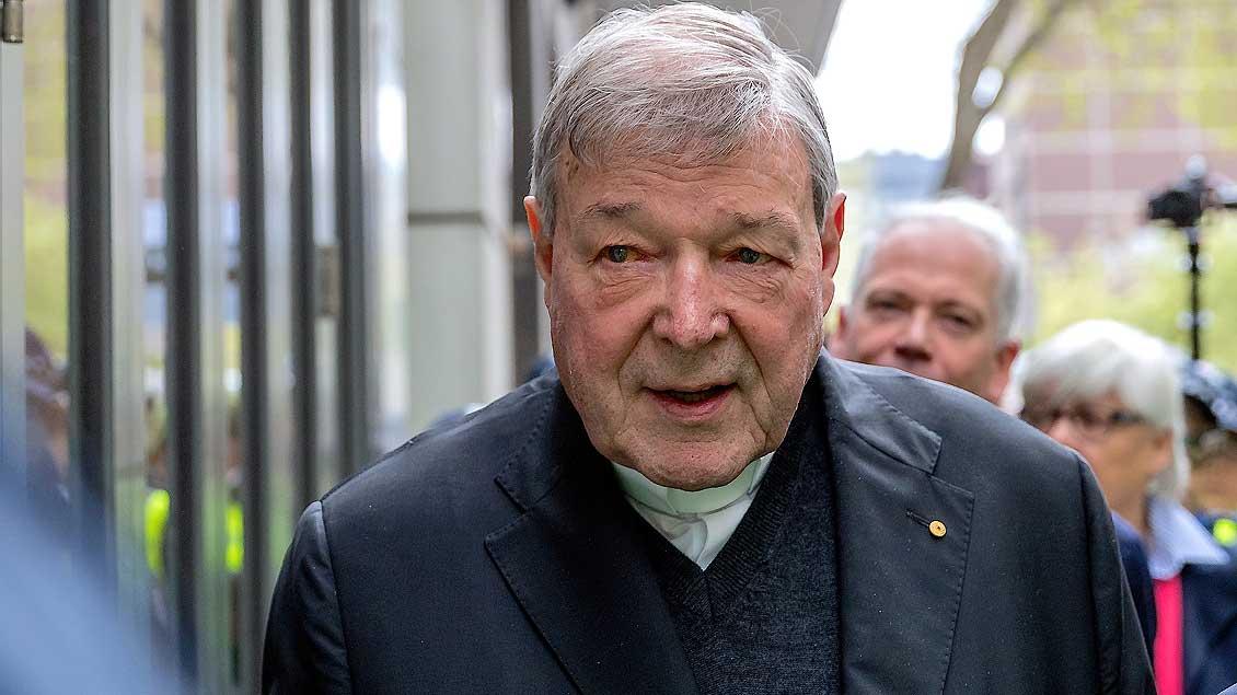 Kardinal Pell Archivfoto: Mark Dadswell (Reuters)