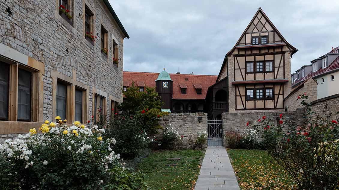Am Augustinerkloster in Erfurt