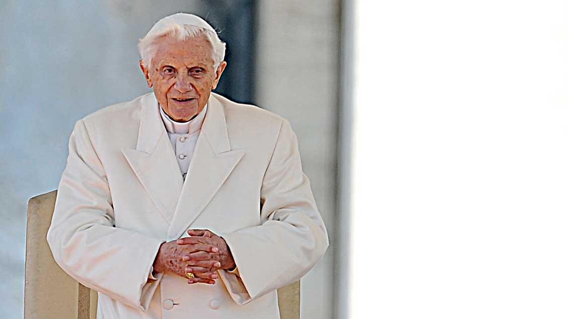 Papst Benedikt XVI. Foto: Christian Gennari (KNA)