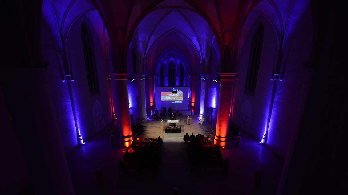 Gottesdienst in der Jugendkirche effata in Münster