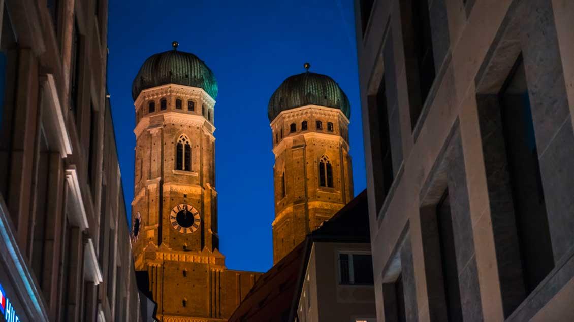 Türme der Frauenkirche in München