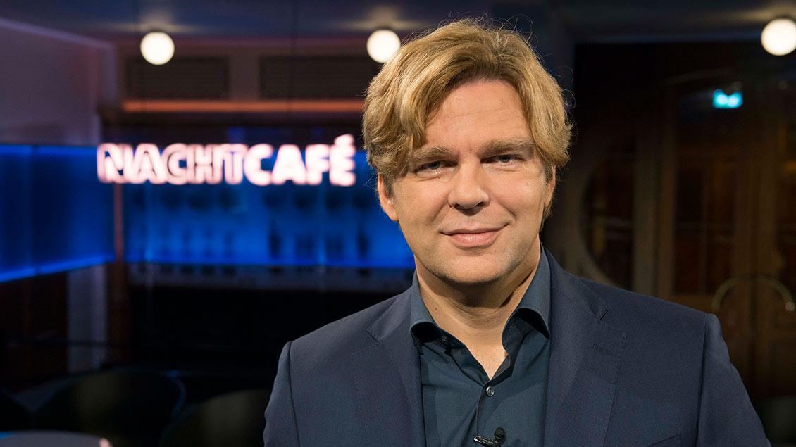 Michael Steinbrecher ist Moderator der Sendung Nachtcafé im SWR
