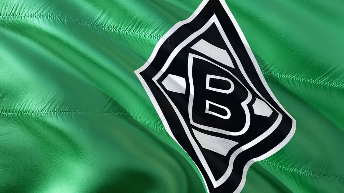 Fahne von Borussia Mönchengladbach