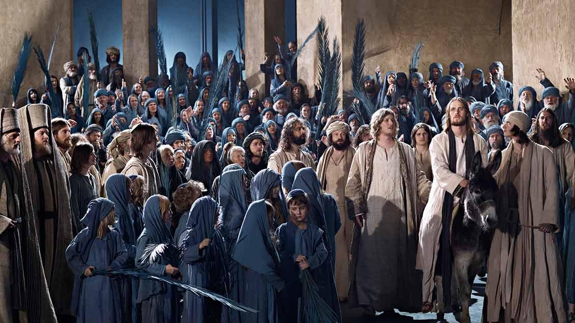 Szene aus den Oberammergauer Passionsspielen 2010
