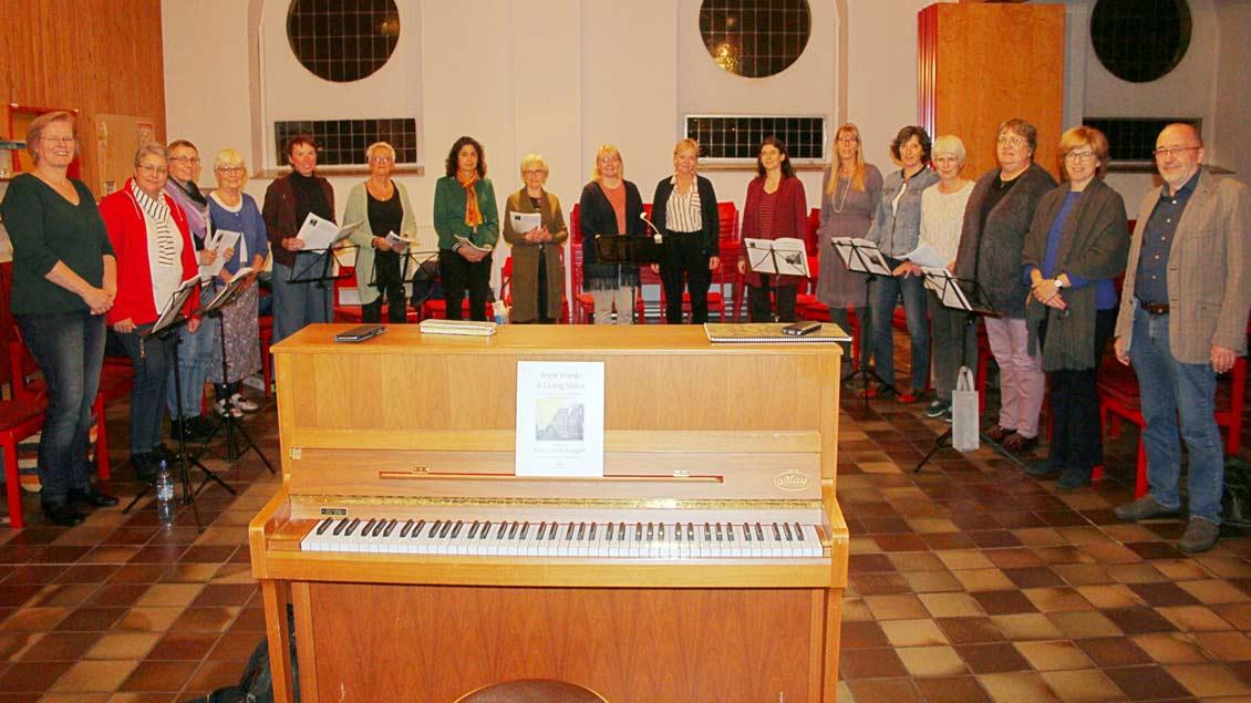 Der Frauenchor singt in Enschede, Münster und Gronau.