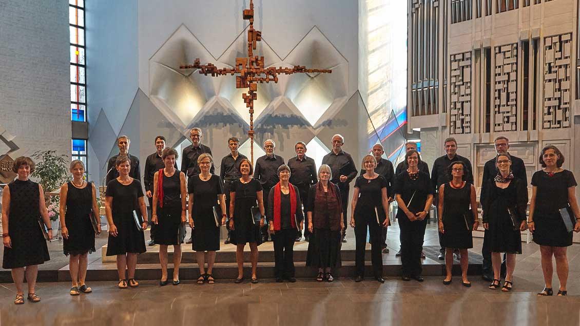Der Kammerchor Westfalen stammt aus Bocholt.