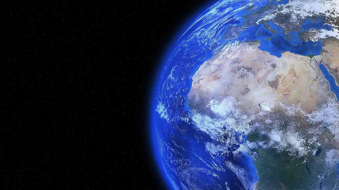 Die Erde im Weltraum Foto: Pixabay