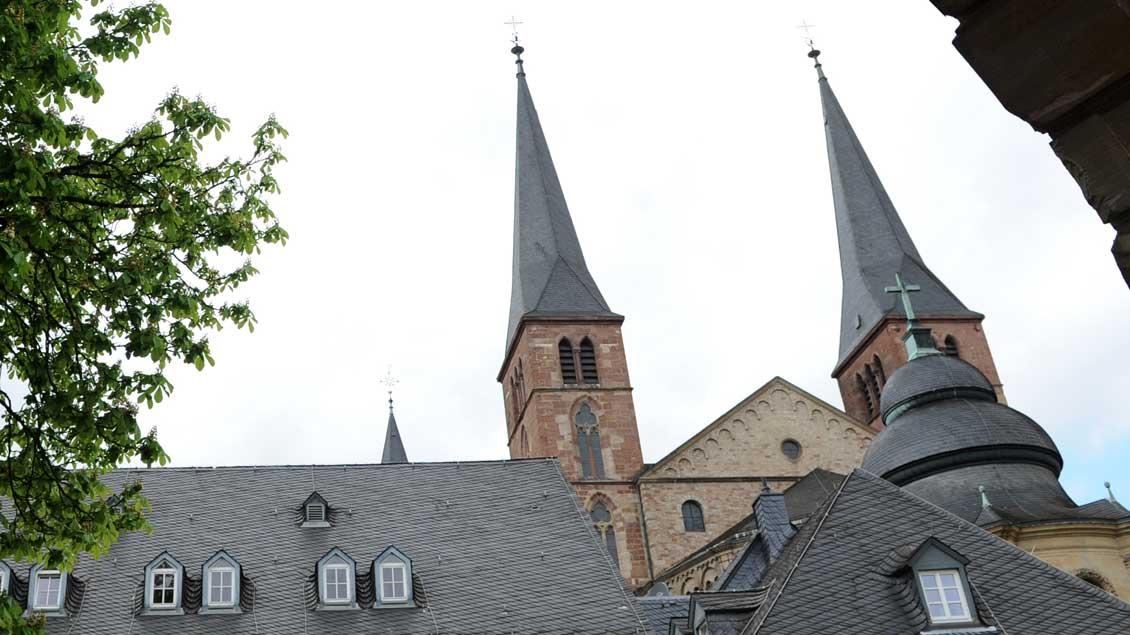 Blick auf den Trierer Dom Foto: Michael Bönte
