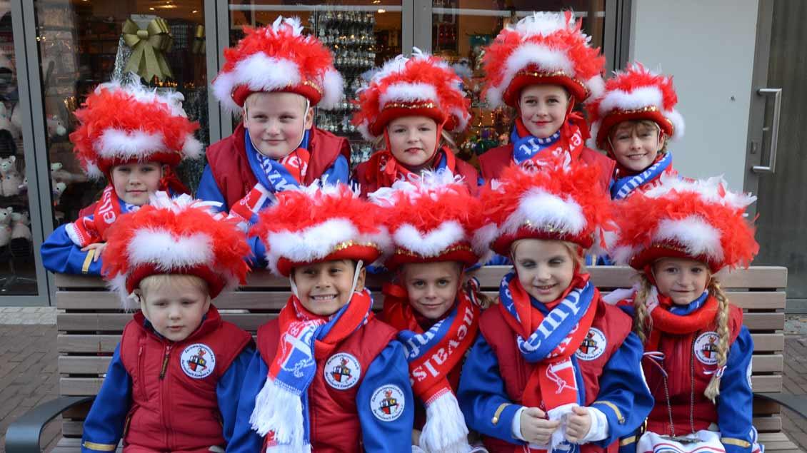 Kindergruppe aus Kempen bei der Wallfahrt der Karnevalisten nach Kevelaer 2019.