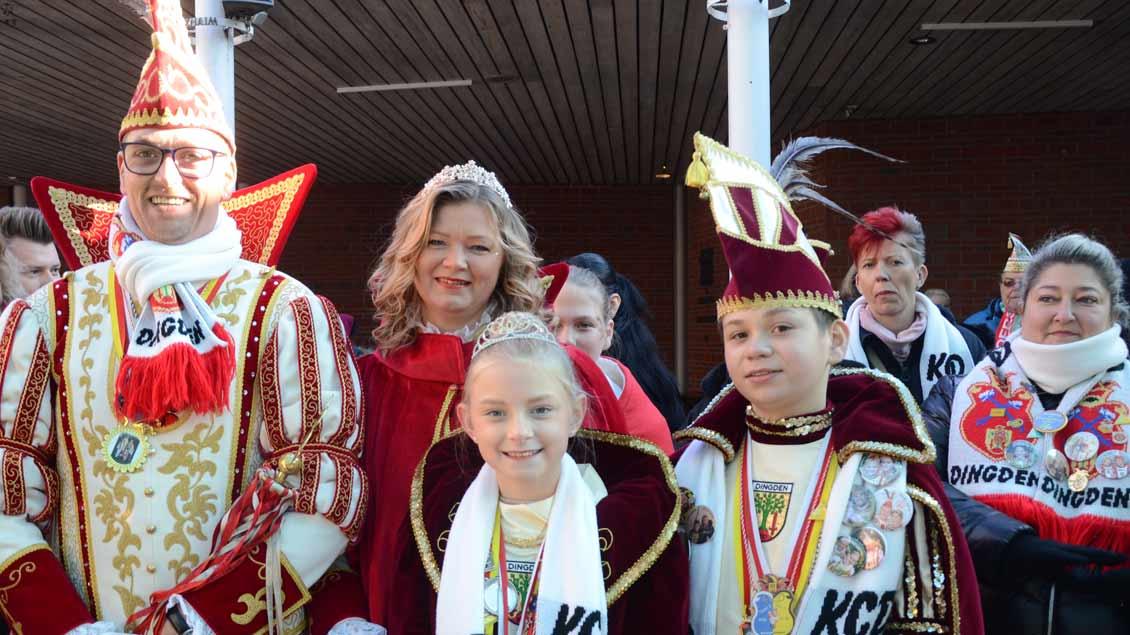 KC Dingden bei der Wallfahrt der Karnevalisten nach Kevelaer 2019.