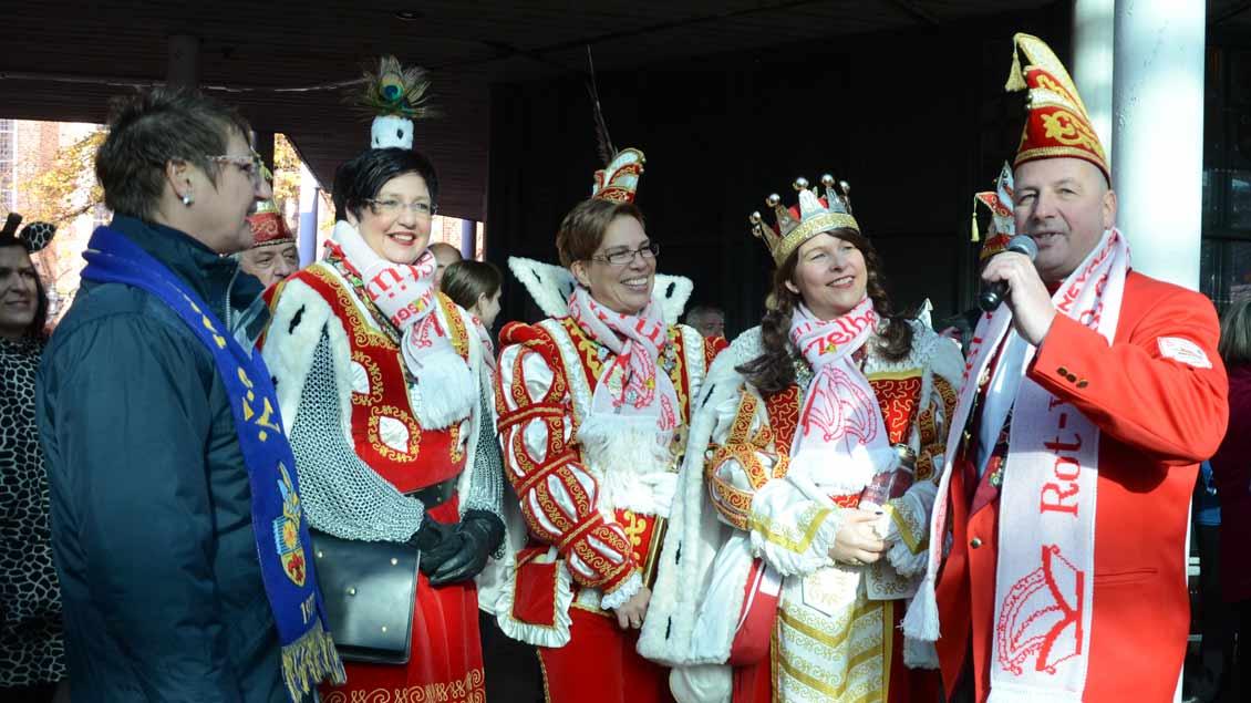 KC Stürzelberg bei der Wallfahrt der Karnevalisten nach Kevelaer 2019.