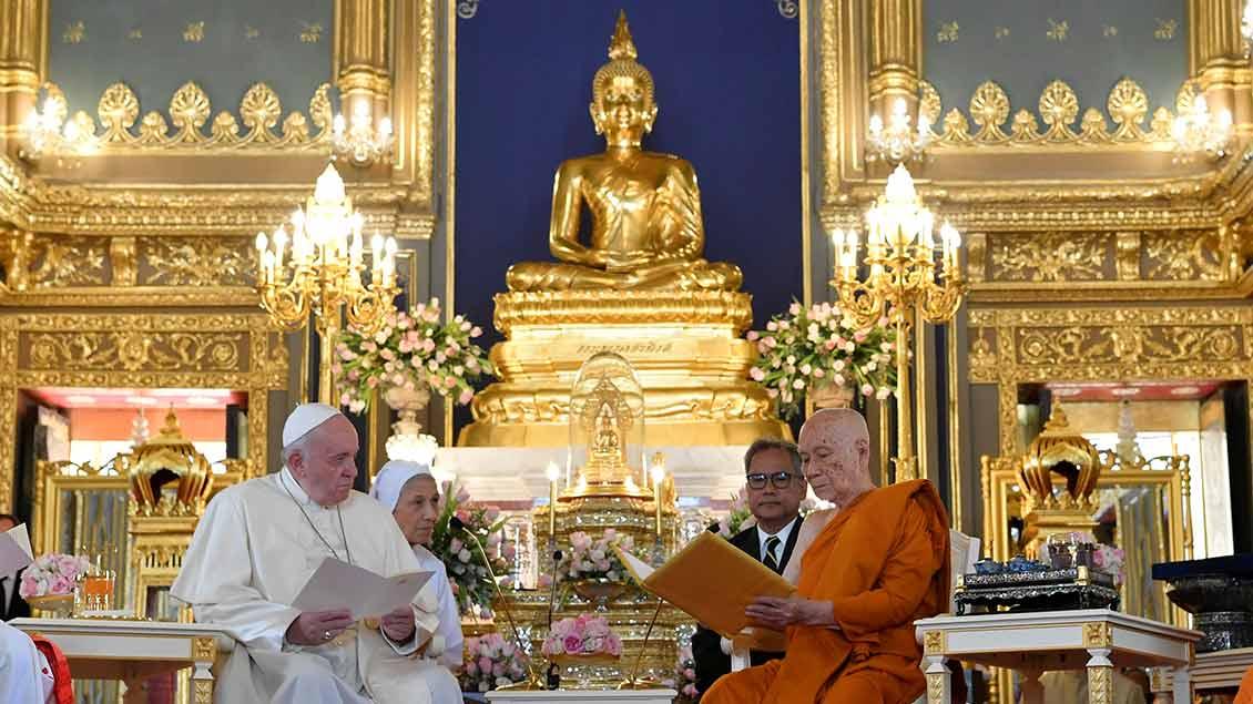 Papst Franziskus und Patriarch Ariyavongsagatanana IX.