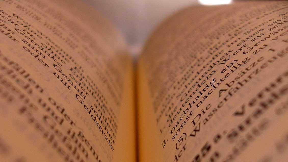 Blick in ein Gesetzbuch Foto: Sascha Sebastian (pixelio.de)