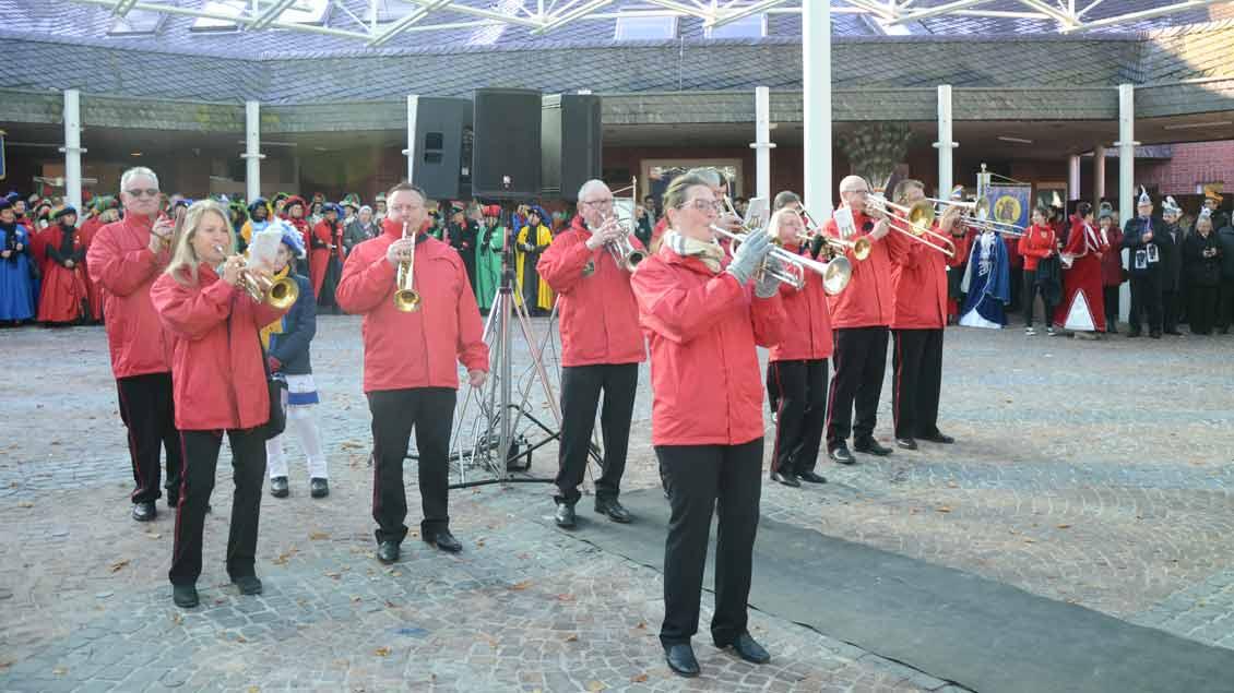 Die Swingis bei der Wallfahrt der Karnevalisten nach Kevelaer 2019.