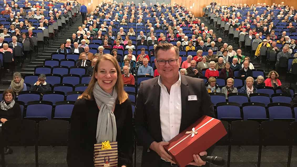 Eva Reiser und Markus Nolte