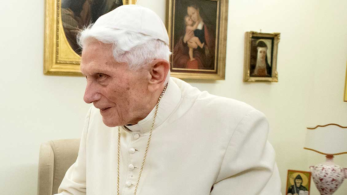 Benedikt XVI. Archivfoto: Vatican Media (Reuters)