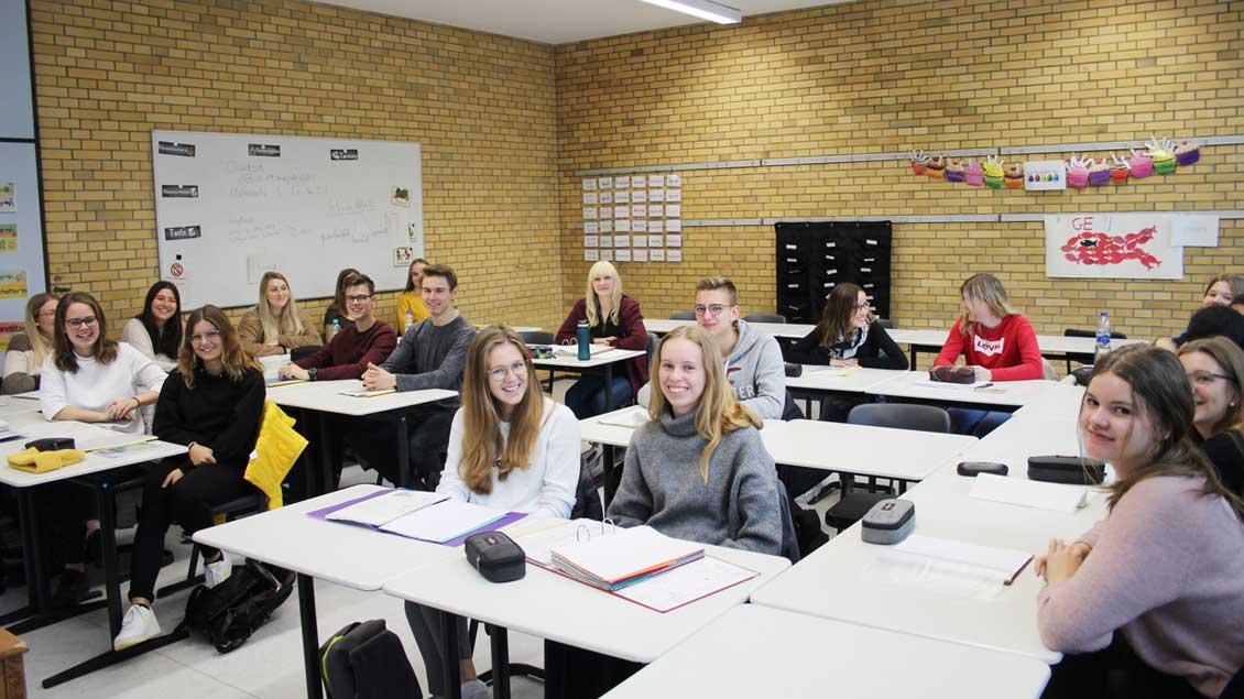 Schüler sprechen über Kirchenträume.
