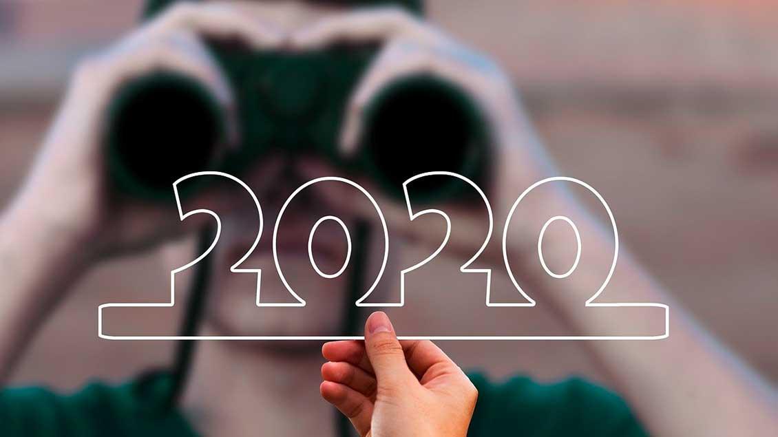 Blick aufs Jahr 2020