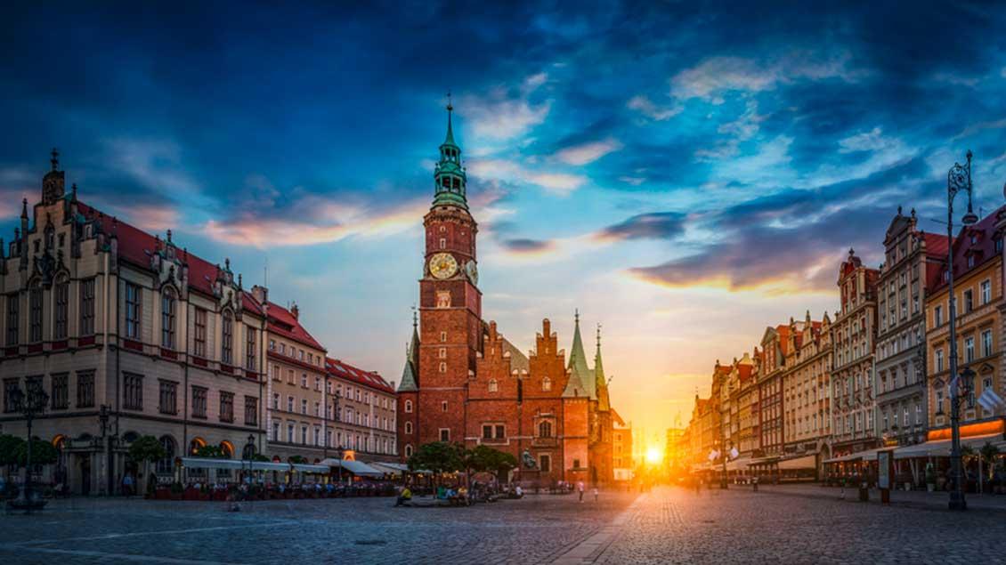 Altes Rathaus, Wahrzeichen von Breslau