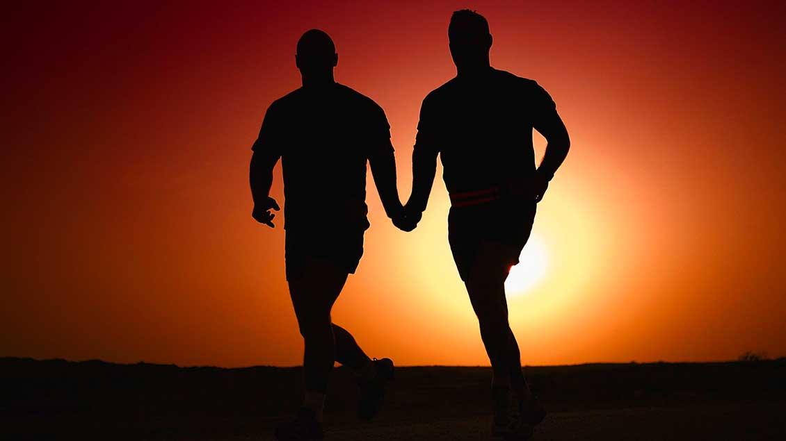Männer-Paar Foto: pixabay