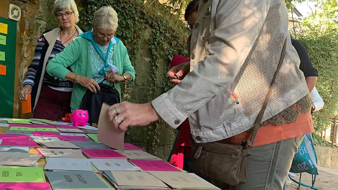 1400 Frauen sind im September in Tecklenburg beim Pilgertag der Katholischen Frauengemeinschaft (KFD) im Bistum dabei. | Fotos: Bönte, Bernard, pd, Himstedt