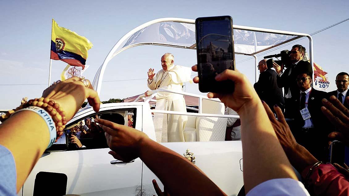 Weltjugendtag in Panama im Januar: Unter den 500000 Teilnehmern sind 100 aus dem Bistum Münster. | Fotos: Bönte, Bernard, pd, Himstedt