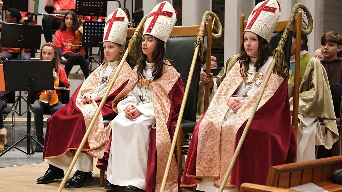 Die drei Kinderbischöfe