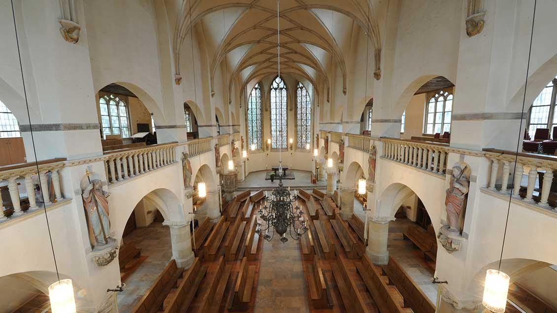 Blick in die Petrikirche
