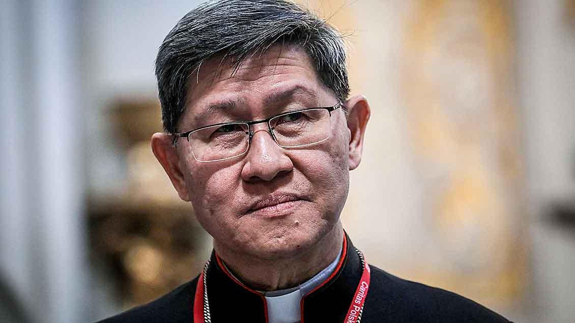 Kardinal Luis Antonio Tagle aus den Philippinen