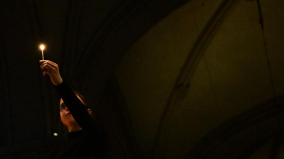Helles Licht im dunklen Dom. | Foto: Michael Bönte