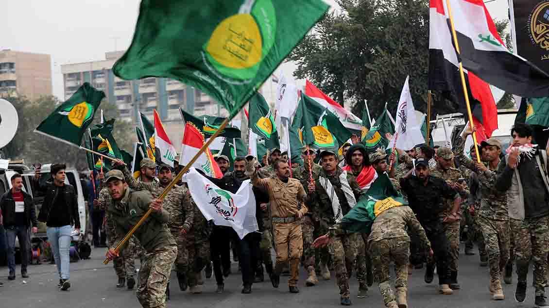 Trauer in Bagdad um den getöteten General Soleimani