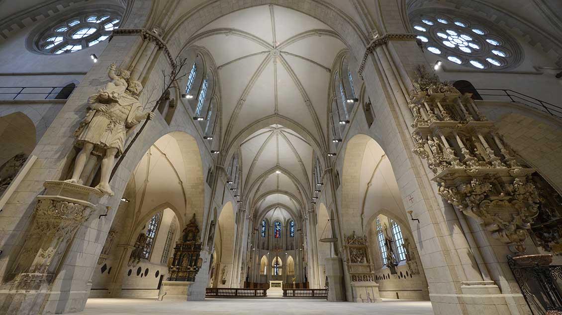 Blick in den Dom von Münster