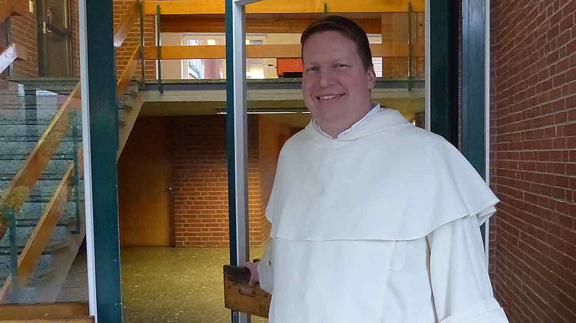 Dominikaner-Pater Andreas Bordowski