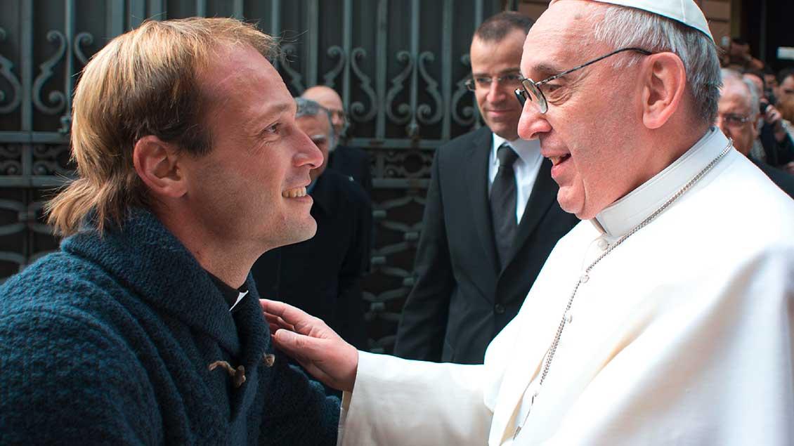 Papst Franziskus und Gonzalo Aemilius