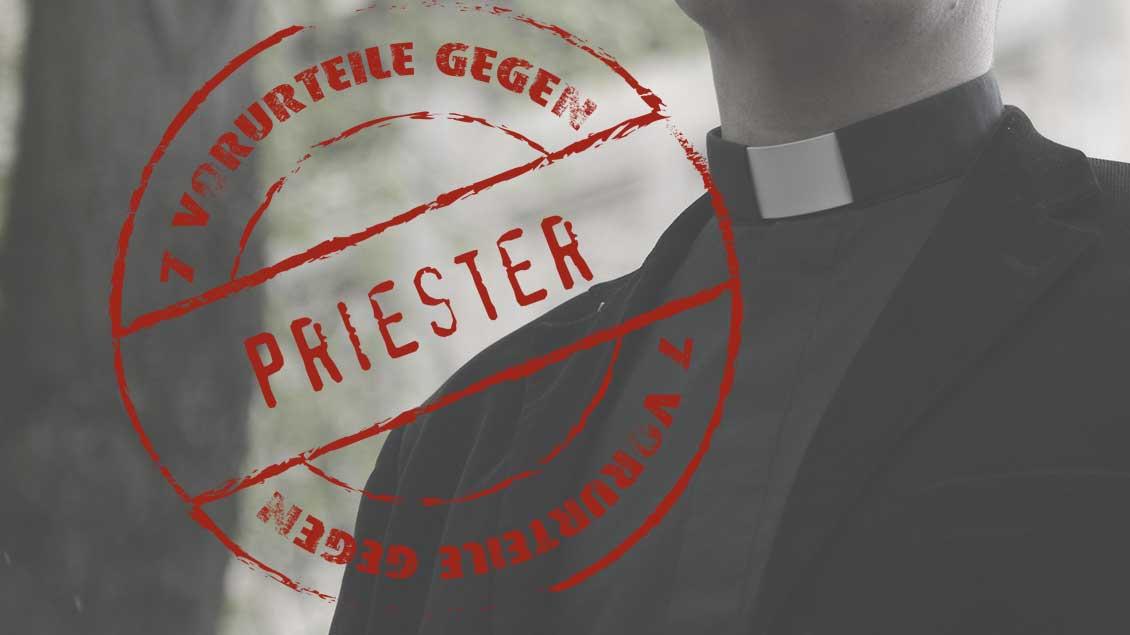 Priester und Serienlogo