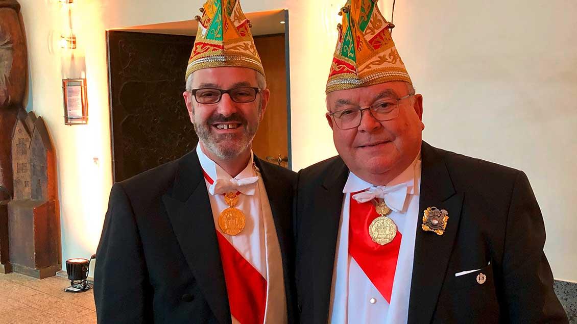 Thomas Frings und Vorgänger Winrich Granitzka